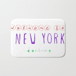 Welcome to New York Bath Mat