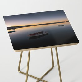 Sunrise over Knysna Lagoon in Western Cape, South Africa Side Table
