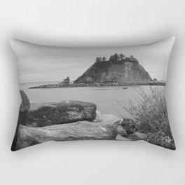 Evening At La Push Beach Rectangular Pillow
