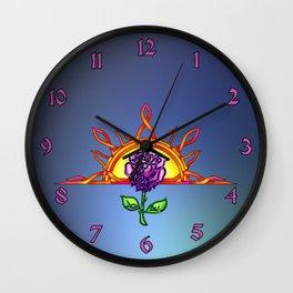Royal Tudor's Sunrise Wall Clock