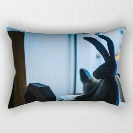 Bangkok Bunny Rectangular Pillow