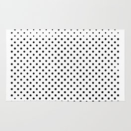 poka dot pixels Rug