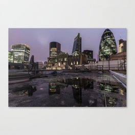 London night missions Canvas Print
