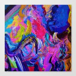 Abstract Viscosity Canvas Print