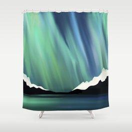 Kodachrome Sky Shower Curtain