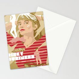 80s TEEN MOVIES :: RISKY BUSINESS Stationery Cards