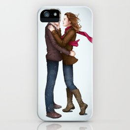 Fitzsimmons - Winter Fluff iPhone Case