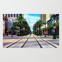 new orleans Area & Throw Rugs featuring New Orleans by Resistance