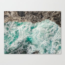 Ocean Textures Canvas Print