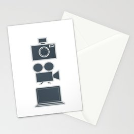 Multimedia Vertical  Stationery Cards