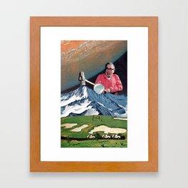 news Framed Art Print