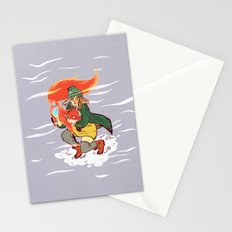 The Detective and the Fox Stationery Cards