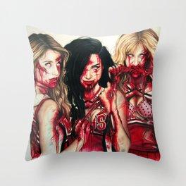 unholiest Throw Pillow