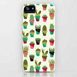 Succulents in Pots iPhone Case