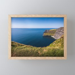 Cliffs of Moher, Ireland Framed Mini Art Print