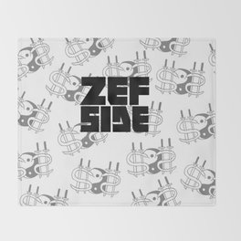 Zef Side Design Throw Blanket