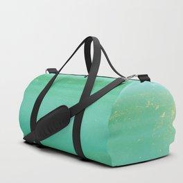 Gold Duffle Bag