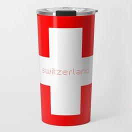 Swiss Cross - Swiss Flag Travel Mug