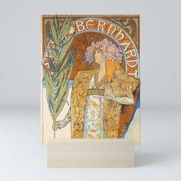 Art Nouveau poster by Alphonse Mucha Mini Art Print