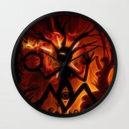 Shamans Ritual Wall Clock