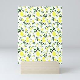 When Life Gives You - Lemon Print Mini Art Print