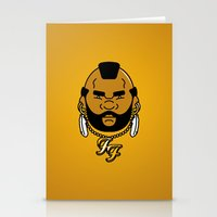 foo fighters Stationery Cards featuring foo' fighter. by dann matthews