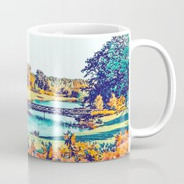 Garden Stroll #painting #nature Coffee Mug