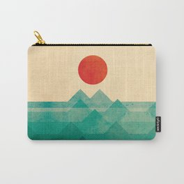 The ocean, the sea, the wave Carry-All Pouch