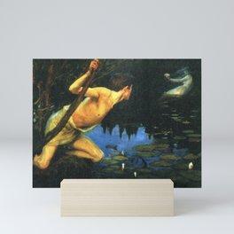 Siren by Albert Edelfelt Mini Art Print