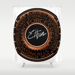 My Name Is Ethan Shower Curtain