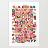 Roof Colorful Art Print