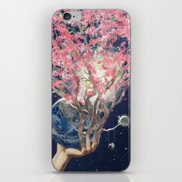 Love Makes The Earth Bloom iPhone Skin