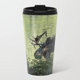 Moose Moment Metal Travel Mug