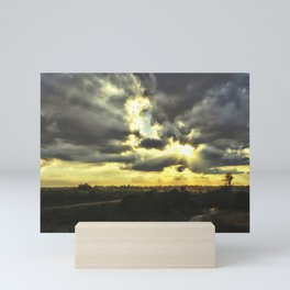 Sky & Road Mini Art Print