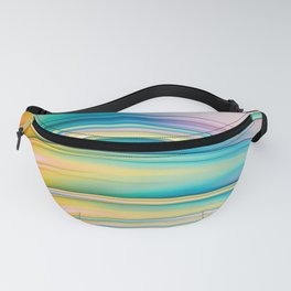 Day Wave. Abstract Art Fanny Pack