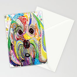Maltese Puppy Stationery Cards