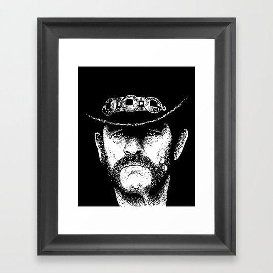 A portrait of Lemmy Kilmister of Motorhead by isthistomorrow