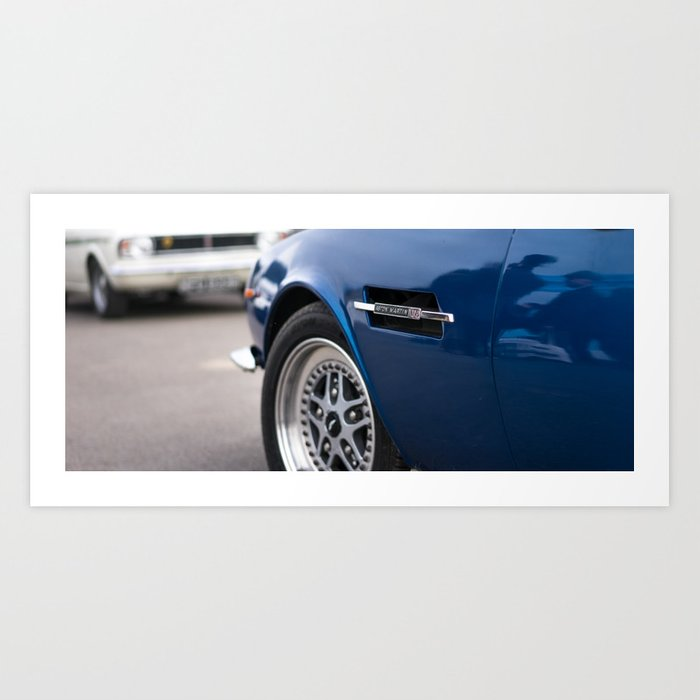 Aston Martin Art Print