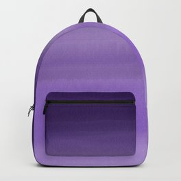 Modern painted purple lavender ombre watercolor Backpack