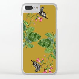 Sacred Plants Clear iPhone Case