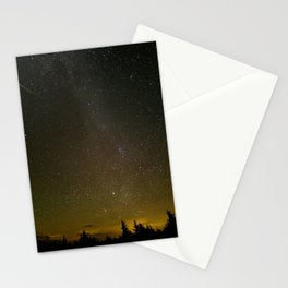 172. Perseid Meteor Shower 2016 from West Virginia Stationery Cards