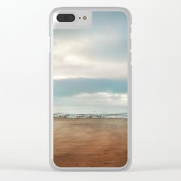 Pastel vibes 68 Clear iPhone Case