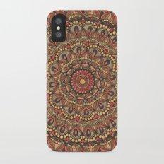Rich Brown Arabian Pattern iPhone X Slim Case