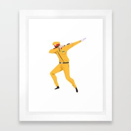 Vietnamese Traffic Cop Dab Framed Art Print