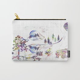 Saint Helens Peace Carry-All Pouch