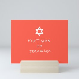 Next year in Jerusalem 6 Mini Art Print