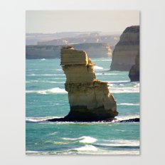 Limestone Rock Stacks Canvas Print