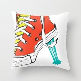 Gum Throw Pillow