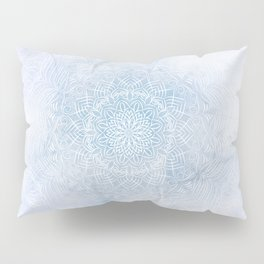 Frosty mandala Pillow Sham