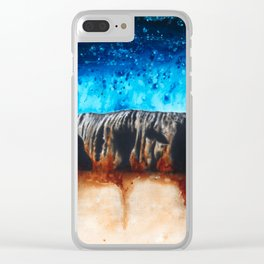Ancient Ochre Clear iPhone Case